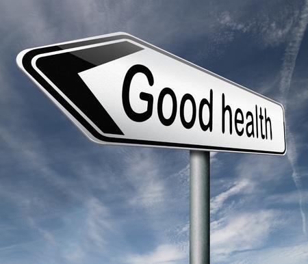 buena salud: buena salud y vitalidad mente sana energ�a y el bot�n de icono de cuerpo Foto de archivo