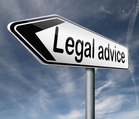 judgments: legal advice or information from lawyer advisor when going to trial