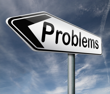 problems solve them or causing them find solution and get out of trouble Stock Photo - 16575462