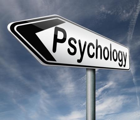 psychology psycho therapy for mental health against depression trauma,phobia schizophrenia road sign arrow photo