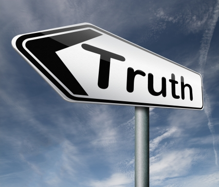 truth be honest honesty leads a long way find justice truth button icon arrow search truth Stock Photo - 16575479