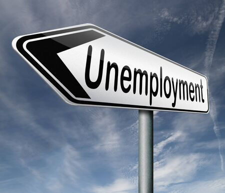 unemployment rate loose job loss joblessness jobloss caused by recession Stock Photo - 16575533