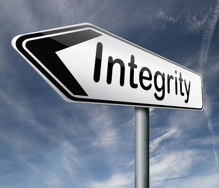 integrity authentic and honest and reliable guidance integrity button integrity icon trust Stock Photo - 16575574