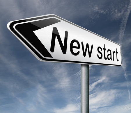 new start restart new beginning button icon isolated arrow photo