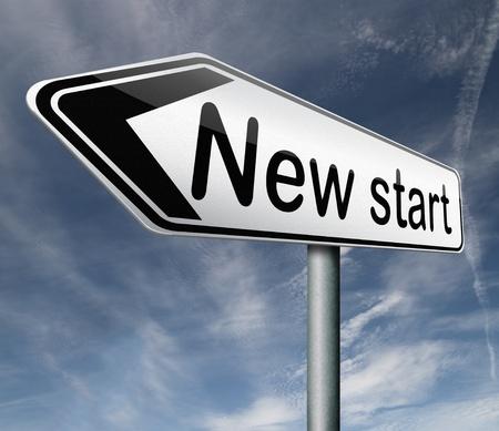 restart: new start restart new beginning button icon isolated arrow Stock Photo