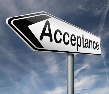acceptation accepter et d'approuver les résultats