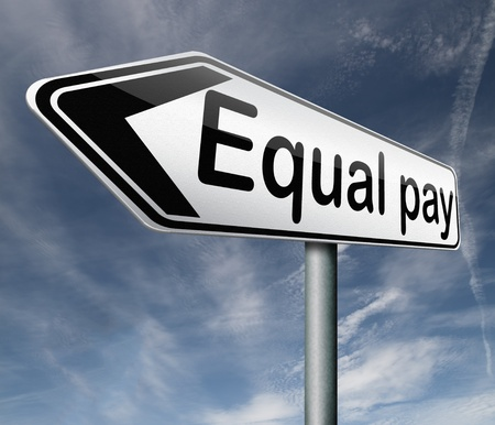 sexes: equal pay equality in rigths for man and women
