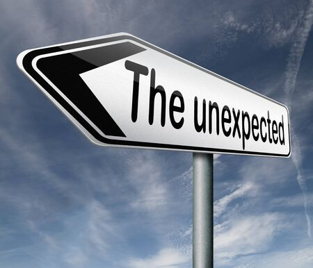 contradictory: the unexpected big surprise expect the unexpected