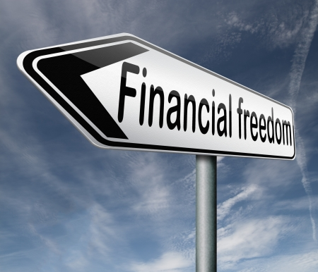financial freedom or independence photo