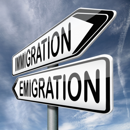 visa approved: immigration and emigration migration migrate to or from country urbanization visa or green card to become citizen