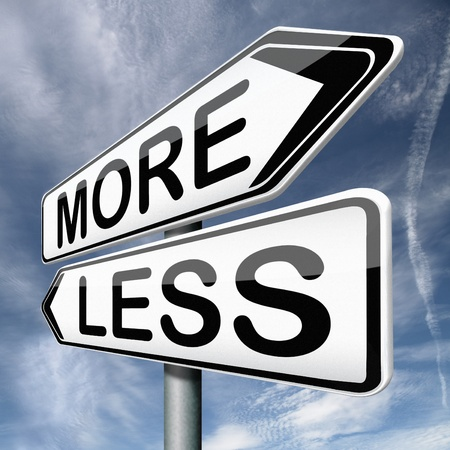 less: more or less close to reality almost there