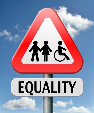 discapacidad: la igualdad y la solidaridad igualdad de derechos y oportunidades sin discriminaci�n