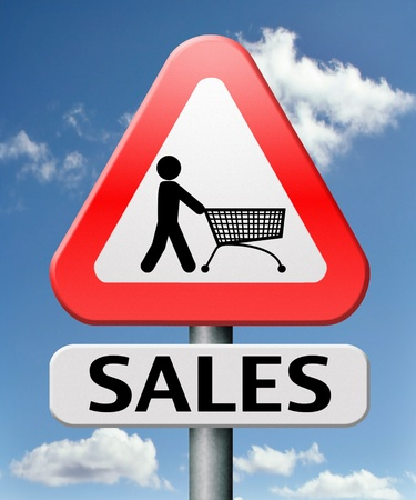 sales winter or summer bargain reduction and product promotion low price special offer Stock Photo - 17411476