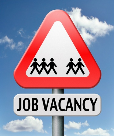 job vacancy help wanted search employees for jobs opening find worker for open vacancies Stock Photo - 17411525
