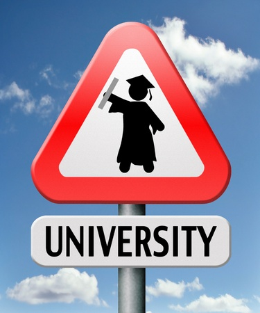 University graduation education to become a professional with an academic degree photo