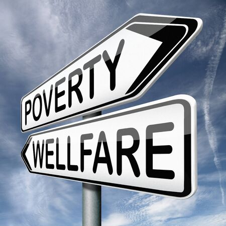 wellfare or poverty help and give donation to charity photo
