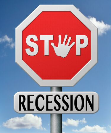 stop recession and financial crisis by recovery plan and action Stock Photo - 17463024