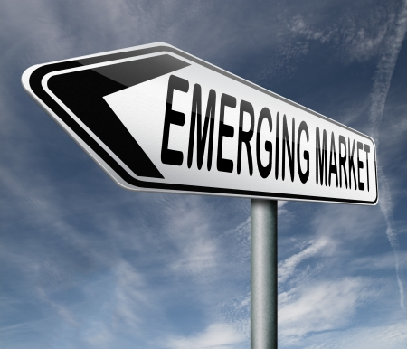 emerging: emerging market new fast growing economy frantic economies