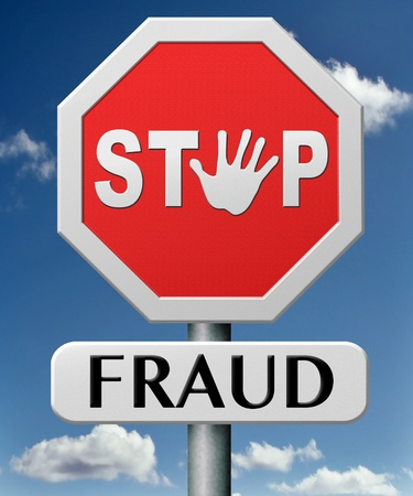 stop fraud bride and political or police corruption money corrupt cyber or internet crime Stock Photo - 17463072