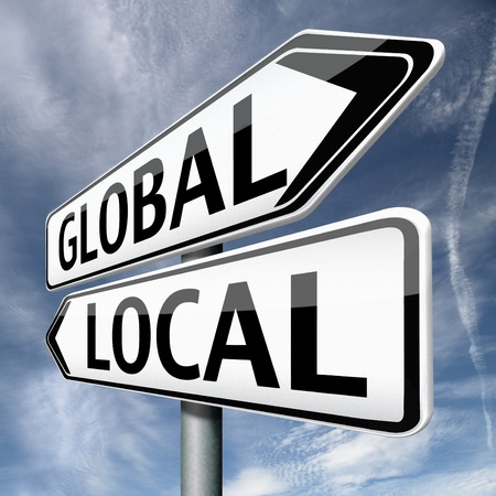 global market: global or local national or international impact services business or world market economic globalization
