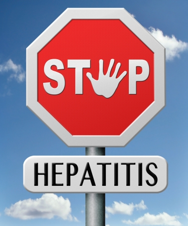 hepatitis: hepatitis prevention treatment and diagnosis for symptoms stop liver cirrhosis symptoms and virus  Stock Photo