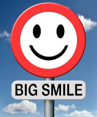 big smile: big smile and happiness having a good delightful day and enjoying life