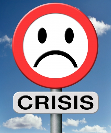 stock market crash: crisis bank economic and financial recession caused by stock market crash or a family or relation crisis