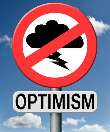 optimismo: optimismo, el pensamiento optimista y positivo