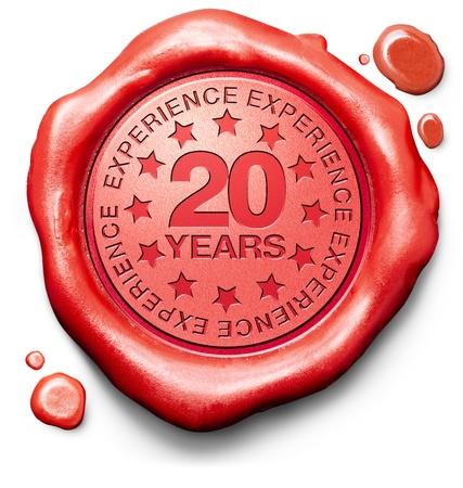 experiences: twenty years experience 20 year of specialized expertise top expert specialist best service guaranteed