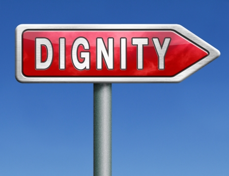 dignit�: l'estime de soi ou de respect de la dignit� confiance et fiert�