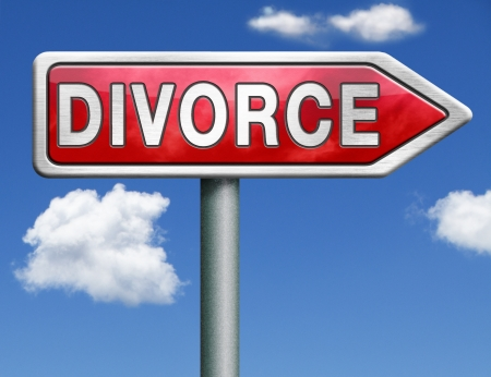 mariage: divorce papers or document by lawyer to end mariage dissolution often after domestic violence alimony parental plan and rights