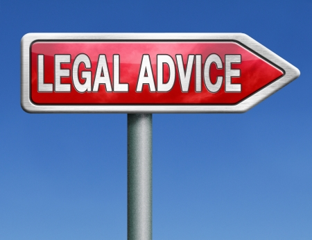 legal advice or information from lawyer advisor when going to trial photo
