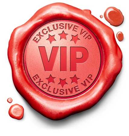 important: vip very important person exclusive star and famous personality red sign stamp icon ticket