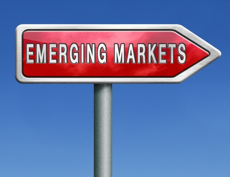 emerging market new fast growing economy frantic economies photo