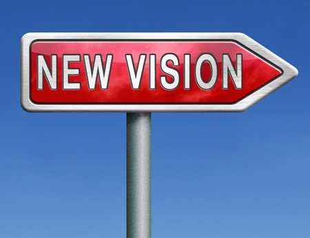 brigth: new vision innovation and brigth new brilliant idea or invention other point of view