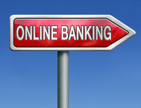 online banking: online banking internet bank account service