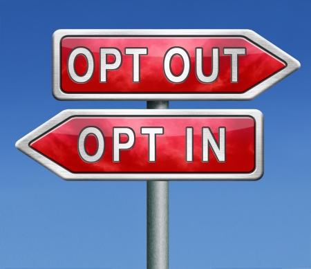 opt: w??czenia lub rezygnacji z tak lub nie zapisa? znak desubscribe lub wylogowanie