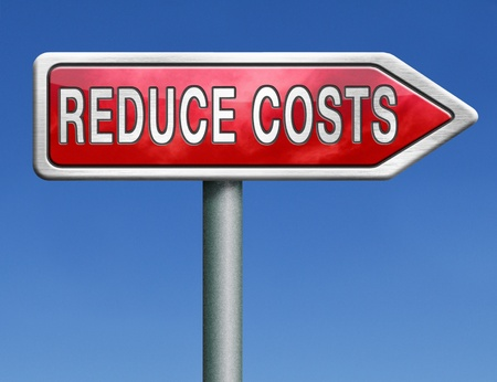 cutting costs: budget cuts reduce costs and cut spendings during crisis or economic recession