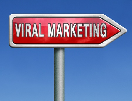 viral marketing or internet branding  Stock Photo - 21175526