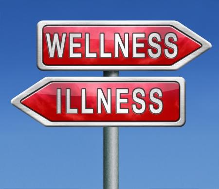 wellness or illness good or bad health photo