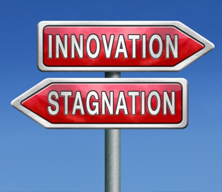 immobile: innovation or stagnation, product development in an  innovative project or stagnation economy