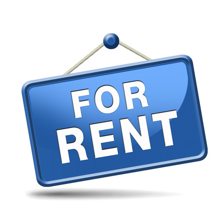 property agent: For rent sign, renting a house apartment or other real estate sign. Home to let icon.