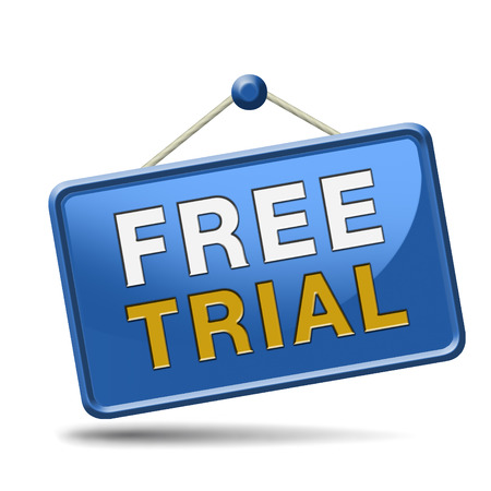 trial version and free product sample, test or try it here and now. No charges unique promotion offer. photo