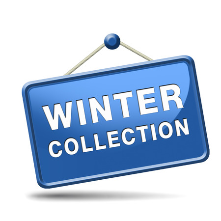 winter collection new latest fashion style icon or label Stock Photo - 22822211
