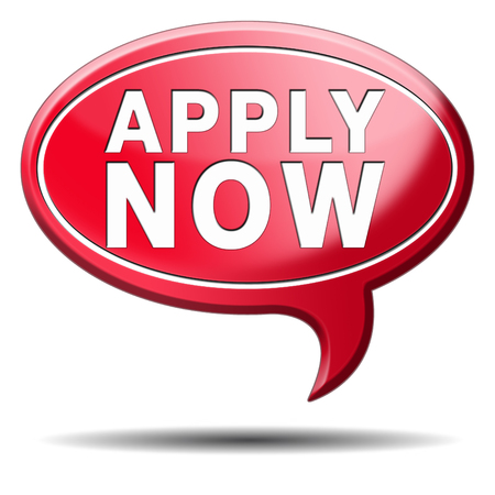 apply now: Apply now and subscribe here for membership. Fill in application form. Stock Photo