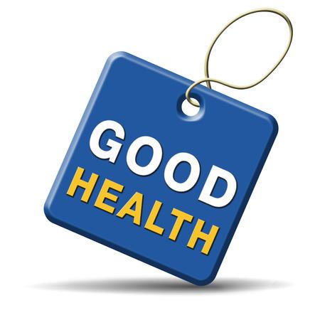 good health: goede gezondheid gezond leven en vitaliteit energie gezond lichaam en geest pictogram knop teken