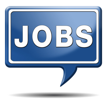 job search vacancy for jobs online job application help wanted hiring now job sign job button job ad advert advertising text and word concept Stock Photo - 22914921