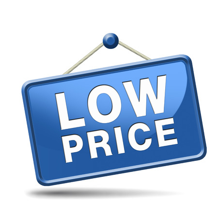 bargain: Bargain and discount low sales prices