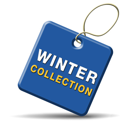 winter collection new latest fashion style icon or label Stock Photo - 22915046
