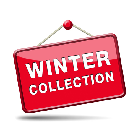 winter collection new latest fashion style icon or label Stock Photo - 22915047